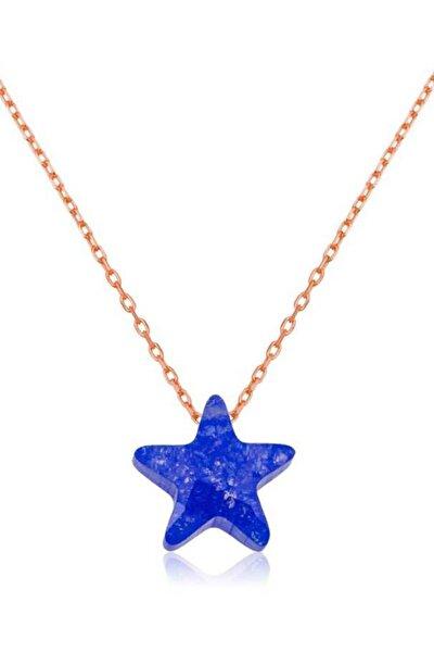 Kadın Mavi Yıldız Kolye PT2610782