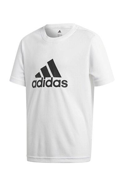 YB GU Beyaz Unisex Çocuk T-Shirt 100524730