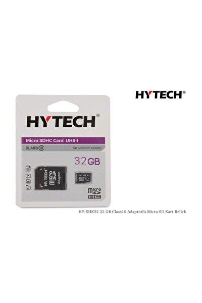 HY-XHK32 32 GB Class10 Adaptörlü Micro SD Kart Bellek