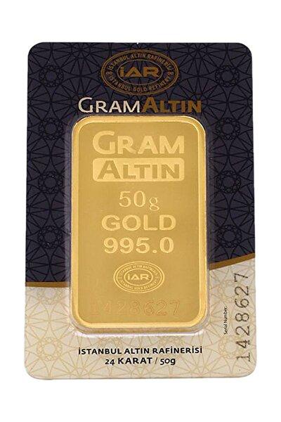 50 Gram Külçe Gram Altın 24 Ayar K00050