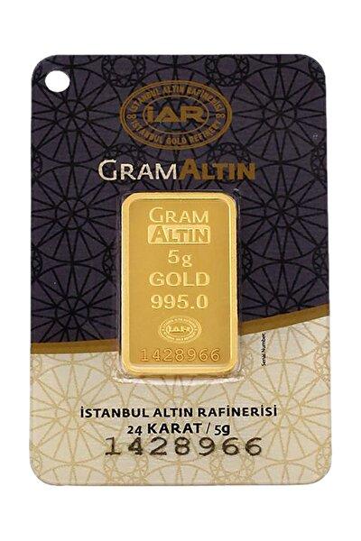 5 Gram Külçe Gram Altın 24 Ayar K000002
