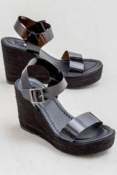 DEJA Siyah Kadın Sandalet