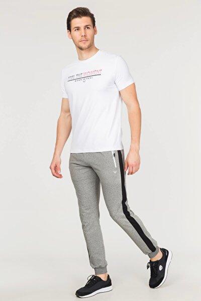 Beyaz Erkek Antrenman T-Shirt FS-1675