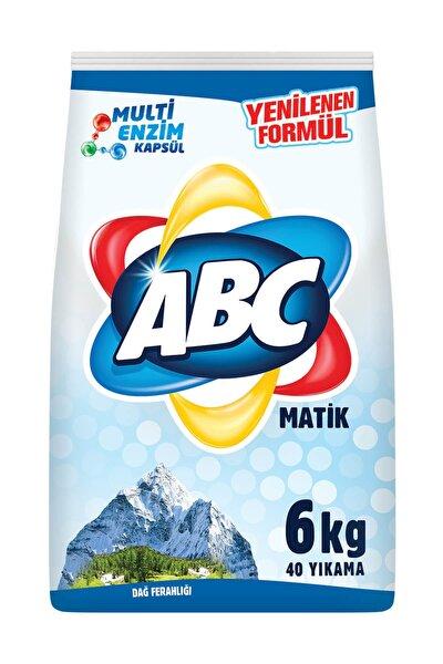 Matik Çamaşır Deterjanı Dağ Esintisi 6 kg
