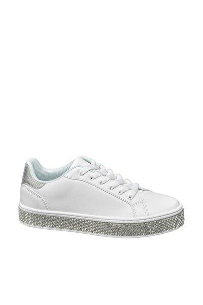 Deichmann Kadın Gümüş Sneaker