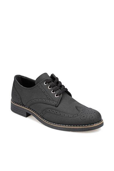 91.356033.m Siyah Erkek Zımbalı Ayakkabı 100350420
