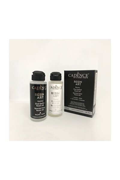 Resin Art Epoksi Şeffaf Reçine 120ml + 120ml Kit