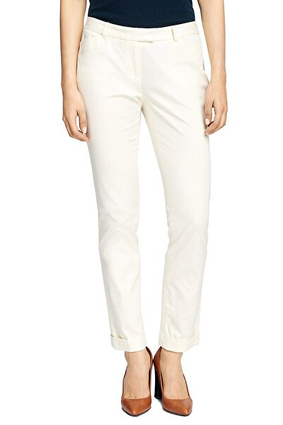 Kadın Krem Rengi Pantolon