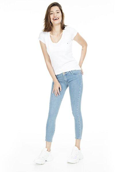 Normal Bel Skinny Jeans KADIN KOT PANTOLON 8507F3431PAULA