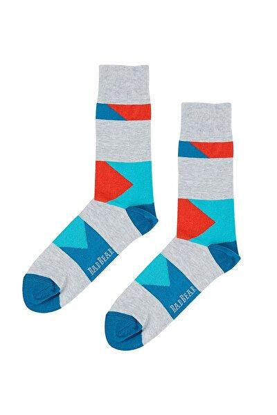 Gri Erkek Çorap SLIDER TALL GRAYMELANGE