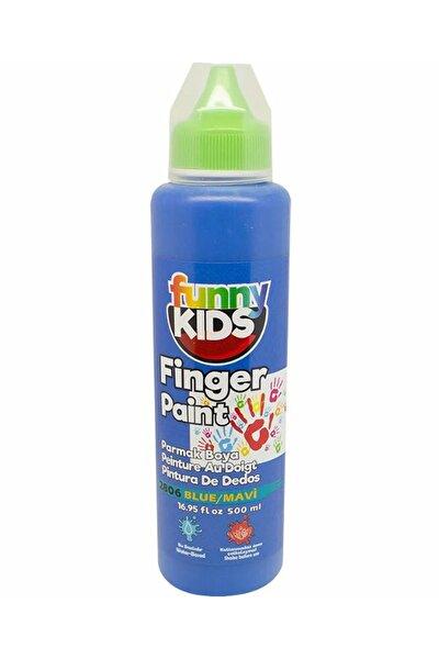 Funny Kids Parmak Boyası 500ml - 2806 Mavi