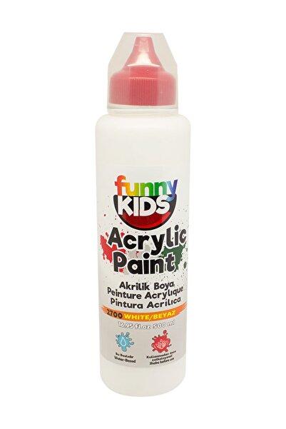 Funny Kids Akrilik Boya 500ml - 2700 Beyaz