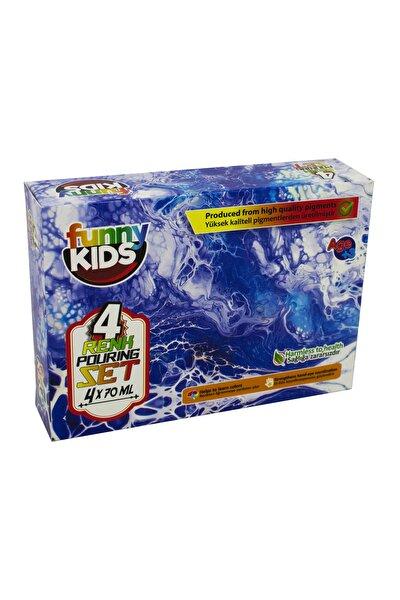 Funny Kids Pouring Set 4x70ml.