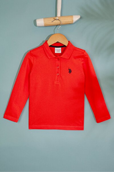 Kırmızı Kız Cocuk Sweatshirt