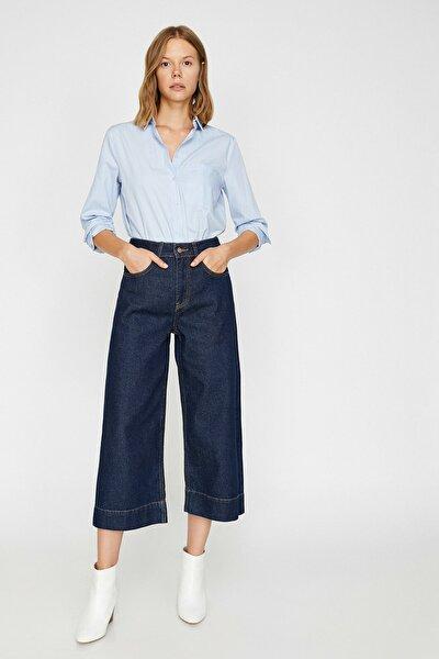 Kadın Mavi Culotte Jean 0KAK47204MD