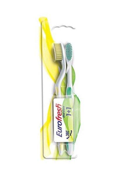 Eurofresh Oral Care 2 Adet Diş Fırçası Sarı-Yeşil /9700789