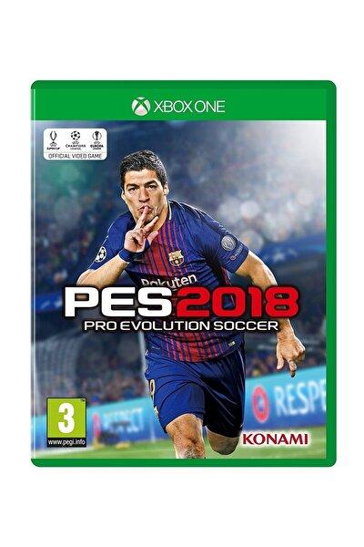 Pes 2018 Xbox One Oyun