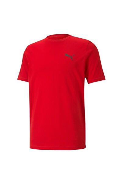 ACTIVE SMALL LOGO TEE Kırmızı Erkek T-Shirt 101085578