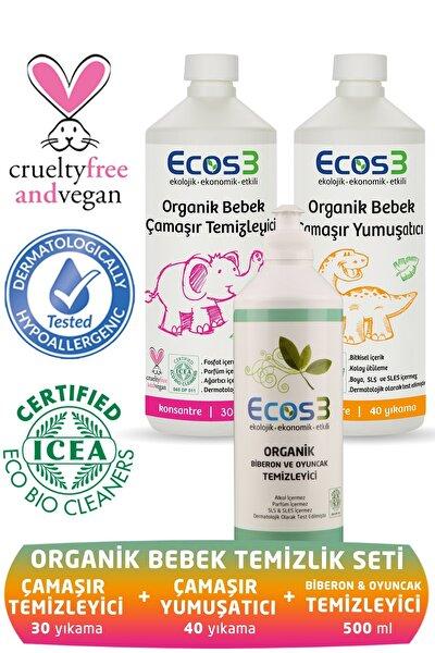 Organik Bebek Temizlik Seti ( 3 Ürün)
