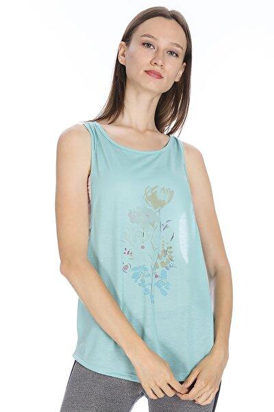 Kadın T-Shirt - SPO-KESROSE - 710607-BRN