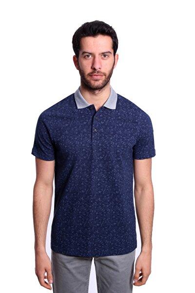 Polo Yaka Erkek Tshirt Lacivert Mavi 1917400