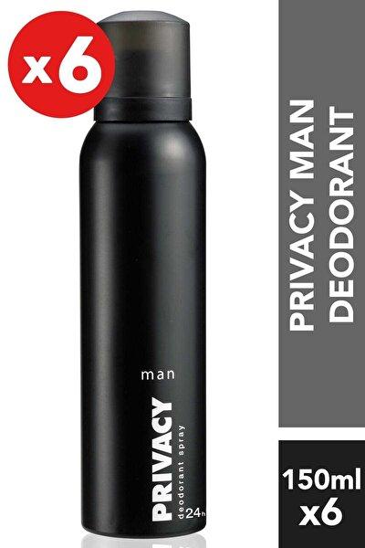 6'Lı Erkek Deodorant - 6X150 ml