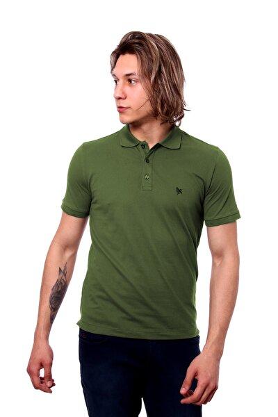 Polo Yaka Erkek Tshirt A.Yeşil/L.Green 1917005