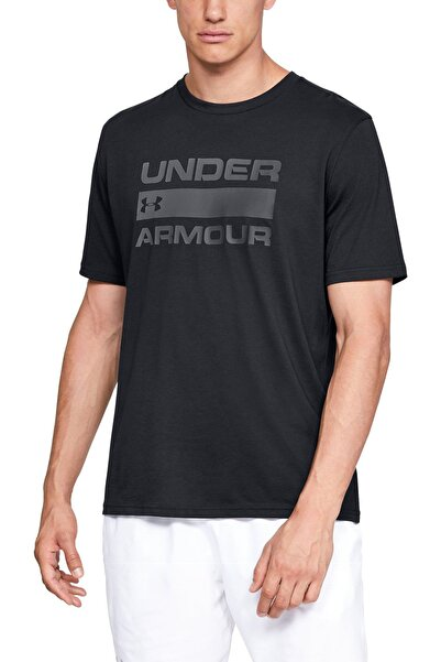 Erkek Spor T-Shirt - UA TEAM ISSUE WORDMARK SS - 1329582-001