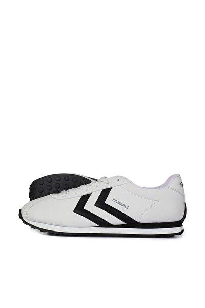 Unisex Beyaz Bağcıklı Koşu Antreman Ayakkabısı
