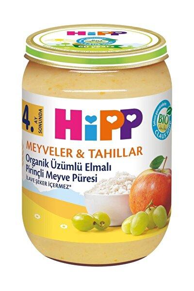 Organik Üzümlü Elmalı Pirinçli Kavanoz Maması 190 gr