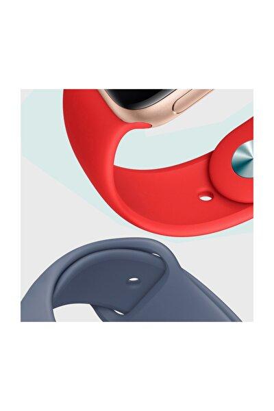 Watch Series 5 44mm Silikon Kordon, Microsonic Kırmızı