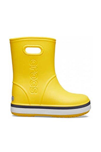 205827-734 Yellow Crocband Rain Boot