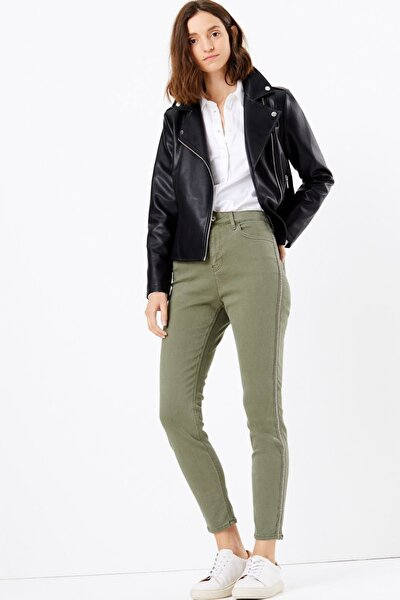 Kadın Yeşil Sculpt & Lift™ Skinny Jean Pantolon T57008622G