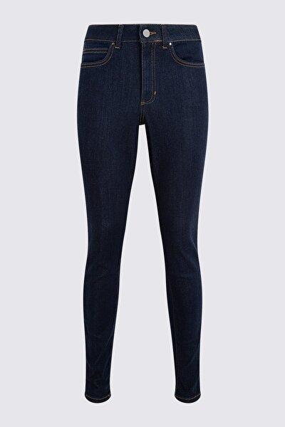 Kadın Mor Yüksek Belli Skinny Jean Pantolon T57001030T