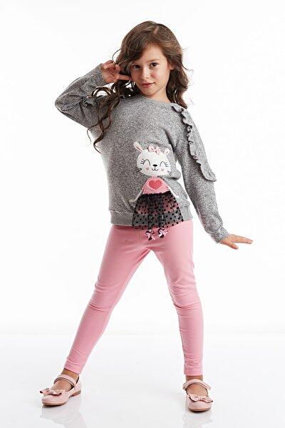 Lily Kız Triko Tunik Tayt Takım