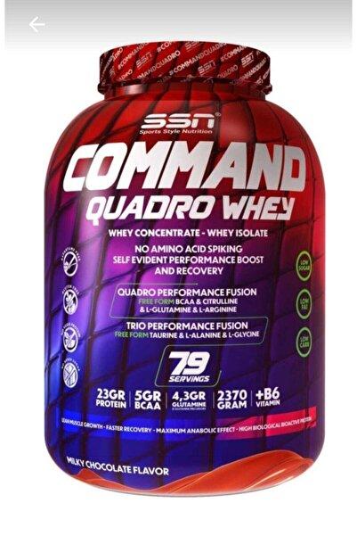 Ssn Command Quadro Whey Protein Tozu 2370 gr Çikolatalı