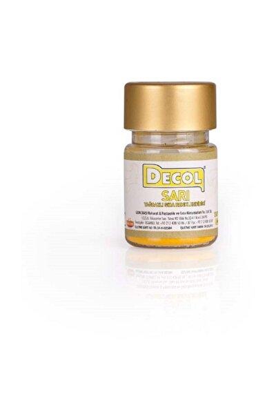 Decol Sarı Yağ Bazlı Gıda Boyası 7 gr