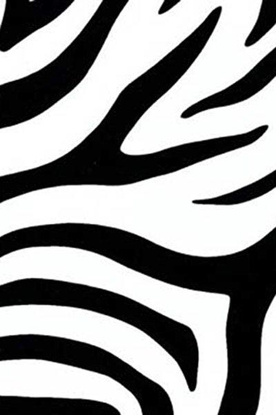 280-3224 Zebra Desen Kendinden Yapışkanlı Folyo Alk280-3224