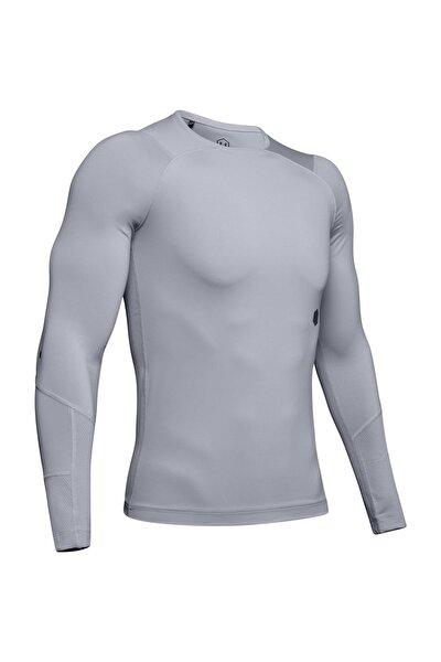 Erkek Spor T-Shirt - UA HG Rush Compression LS - 1328699-011