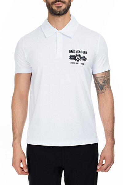 Erkek Beyaz T-Shirt S M831803M3876 A00