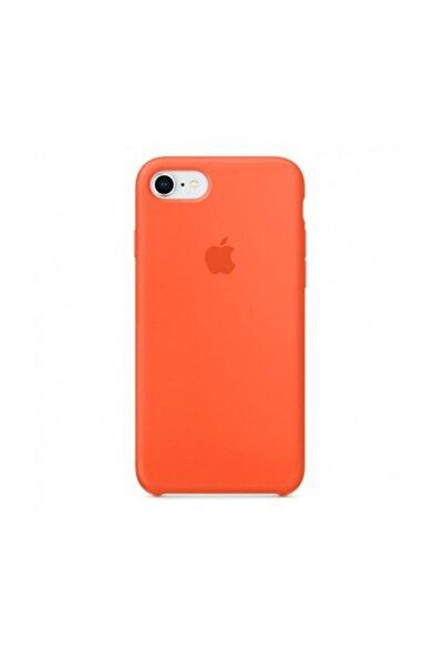 Iphone 7 Silikon Kılıf Turuncu