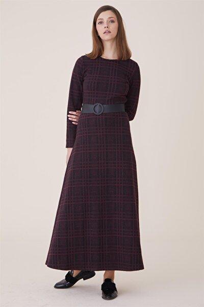 Kadın Bordo Elbise Nassah-UU-9W6070