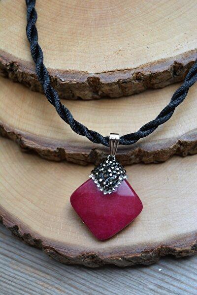 Jewellery Ceyt Doğal Taş El Yapımı Bayan Kolye