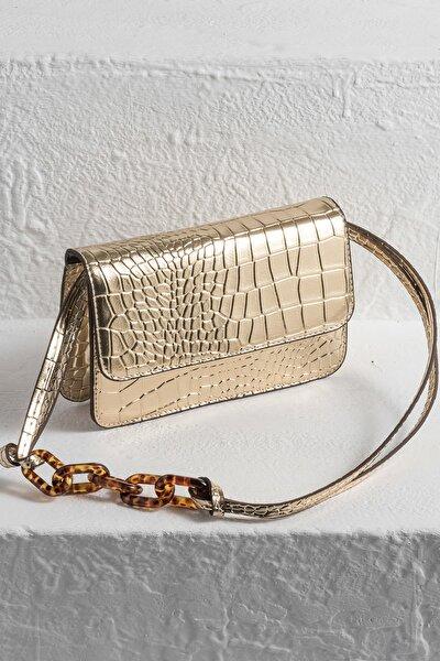 SOLEMAR Gold Kadın Çanta