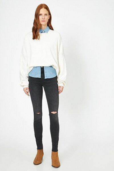 Kadın Siyah Jeans 0KAK47329MD