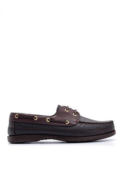 Hakiki Deri Kahve Erkek Casual Ayakkabı