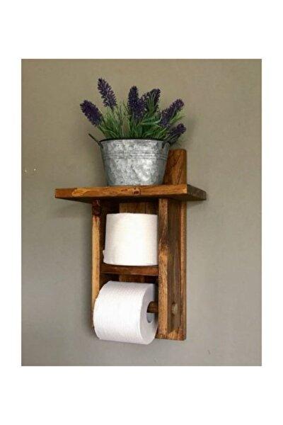 Ahşapevimçok Amaçlı Dekoratif Ahşap Tuvalet Kağıtlık Ahşap Tuvalet Kağıtlığı Model38