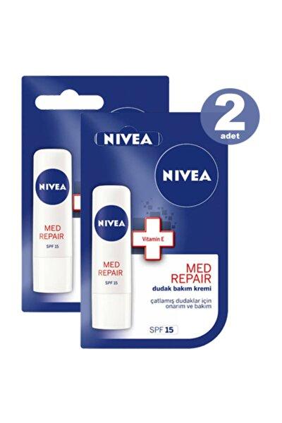 Dudak Bakım Kremi Med Plus Lipstick 4.8 gr * 2 Adet