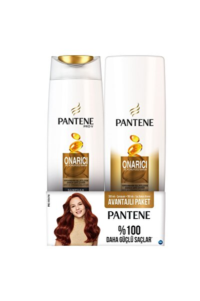Onarıcı Koruyucu Şampuan 300 ml  + Saç Kremi 180 ml