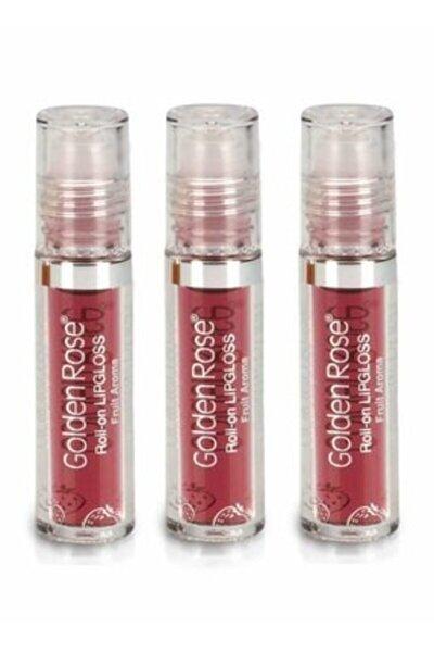 Meyveli Dudak Parlatıcısı - Roll On Lipgloss Çilek X 3 Adet